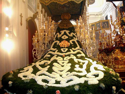 Manton de flores Virgen de las Penas