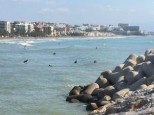 Los surferos