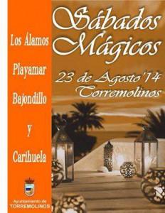 Sábado Mágico en la Playa, 23 Agosto